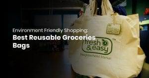 Environment Friendly Shopping: Best Reusable Groceries Bags Of 2019