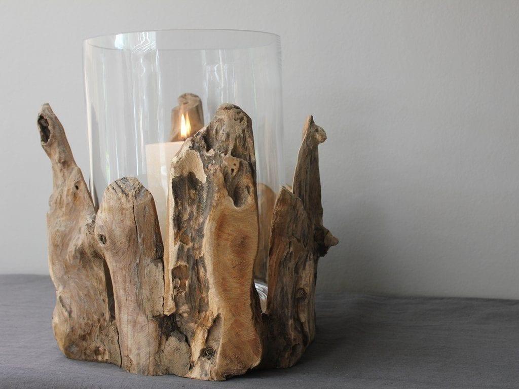 Barrel Vase Driftwood Decoration