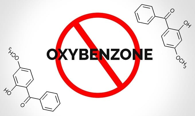 Banned Oxybenzone