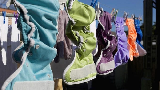 Air Drying Cloth Diapers