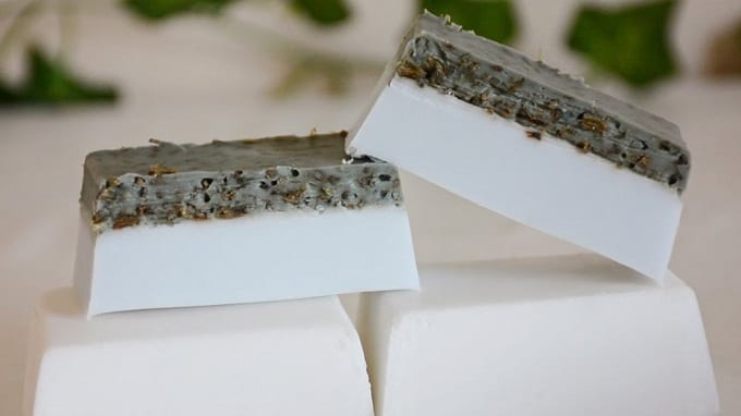 DIY Coconut Lavender Soap