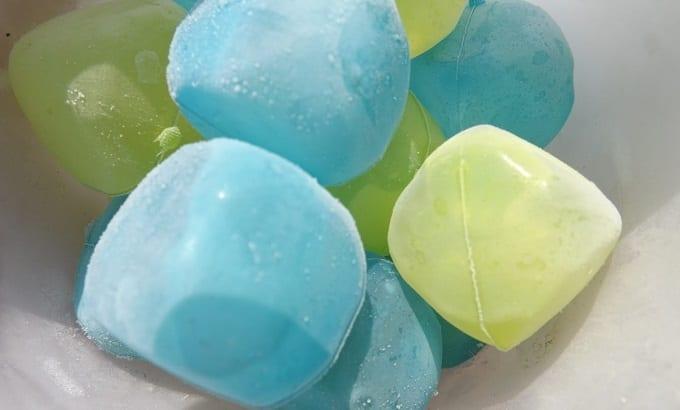 Reusable Ice Cubes In Freezer