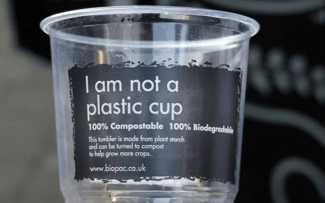Biodeagradable And Composting Plastic Cup