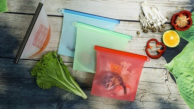 Colorful Food Storage Bags