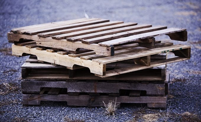 Pile Of Wooden Pallets