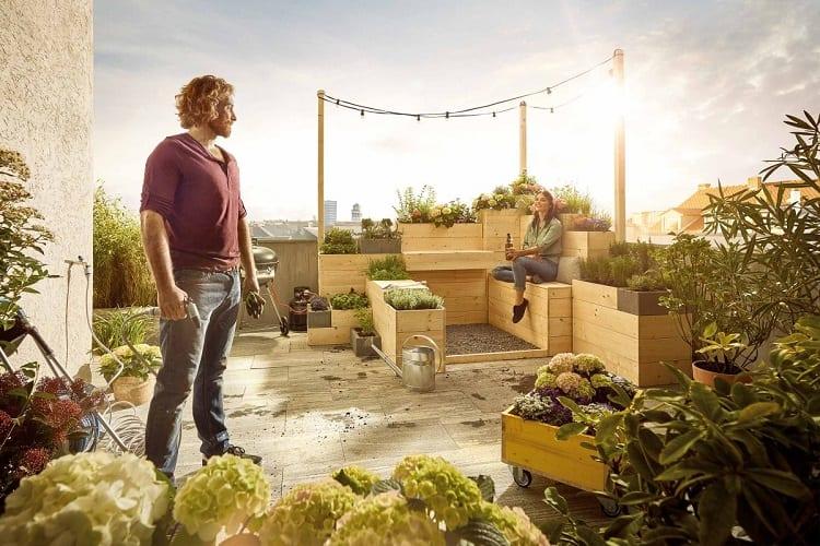 Couple Made Urban Garden